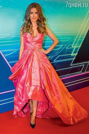 Виктория Боня на церемонии вручения премии RU-ТV. 2014 г.