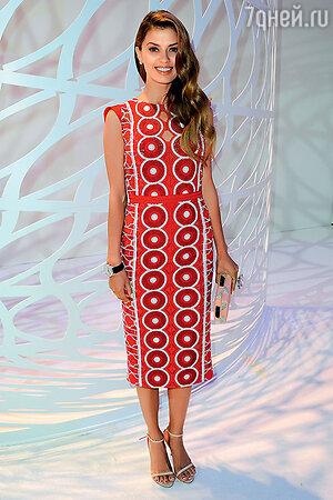 Виктория Боня на Неделе высокой моды в Париже. 2014 г.
