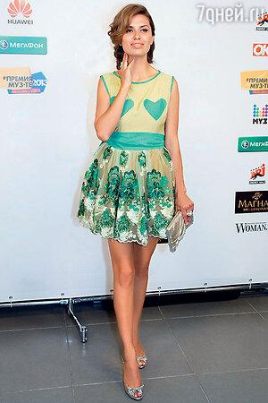 Виктория Боня на церемония вручения премии «МУЗ-ТВ». 2013 г.