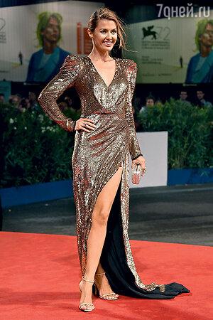 Виктория Боня на 72-м Венецианском кинофестивале. 2015 г.