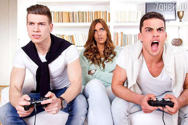 Что делать, если мужчина – геймер