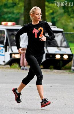 Гвен всегда была сторонницей здорового образа  жизни. Нью-Йорк, Центральный парк, 2011 г.