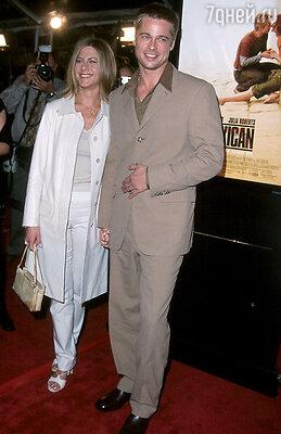 А в браке Энистон — Питт пострадавшей стороной признают Дженнифер. 2004 г.