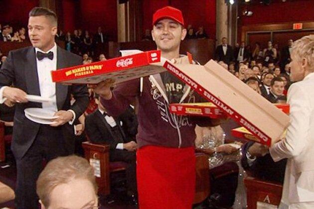 пицца «Оскар» Эдгар Мартиросян Брэд Питт