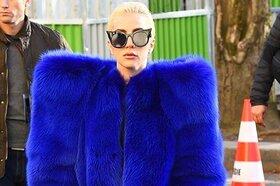 Образ дня: Леди Гага в Saint Laurent