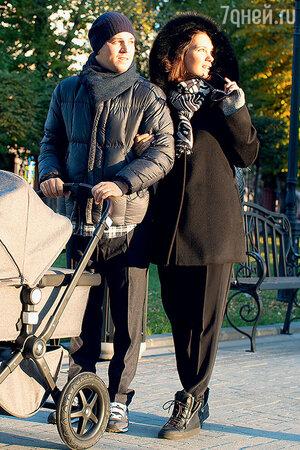 Екатерина Климова с мужем Гелой