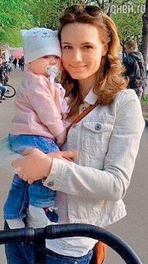 Кристина Бродская с дочкой Софией-Каролиной