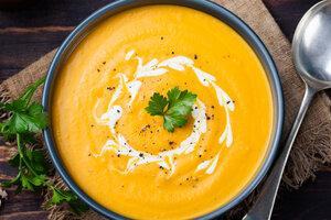 Морковный суп-пюре: рецепт от шеф-повара Мишеля Ломбарди