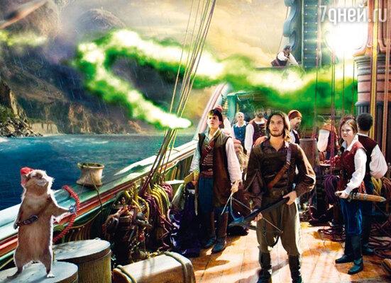 В новом фильме мастерам спецэффектов пришлось немало потрудиться, рисуя дракона, мышиного короля Рипичипа и множество других сказочных созданий