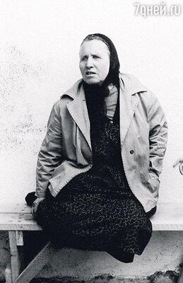 Вангелия Гущерова в возрасте 75 лет