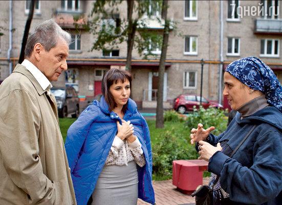 Вениамин Смехов и Алиса Хазанова срежиссером картины Катей Шагаловой