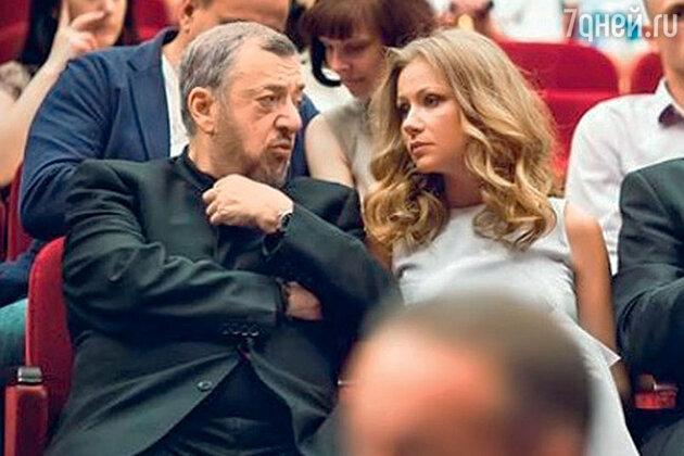Мария Миронова с Павлом Лунгиным и Александром Сокуровым
