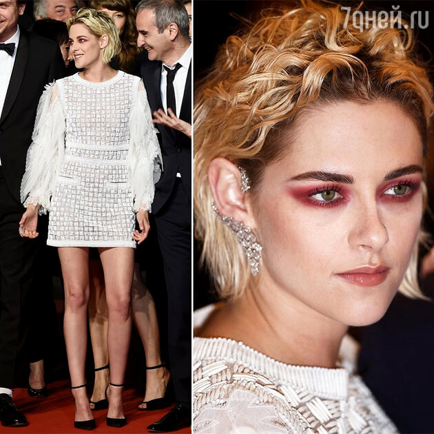 Звезда в платье от Chanel