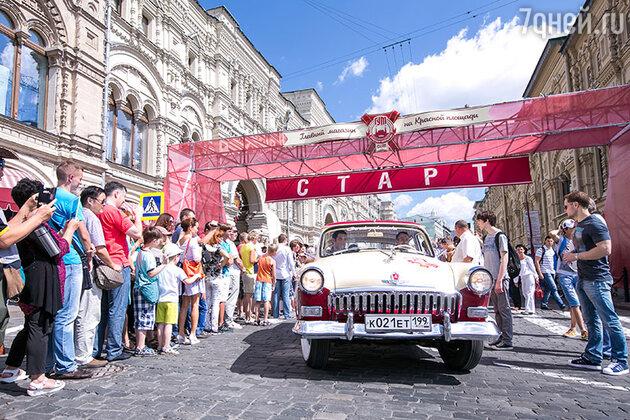 26 июля в Москве состоялось первое в истории ГУМа авторалли