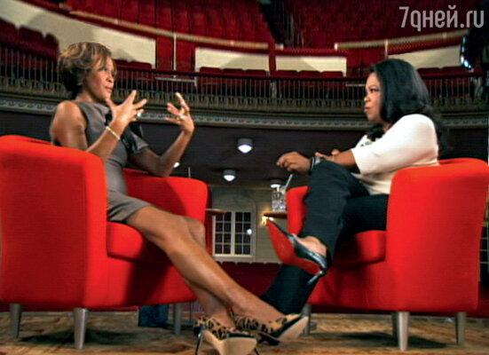 Интервью Опре Уинфри она давала через два года после развода. Но ни о чем, кроме Бобби Брауна, онапо-прежнему не могла говорить. Даже о своем новом бойфренде. 2009 г.