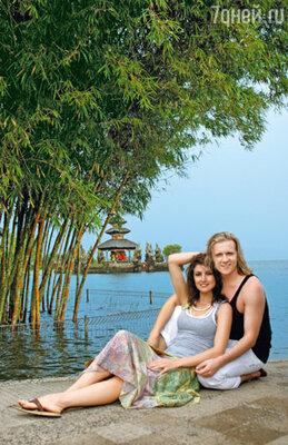 В запоздалое романтическое путешествие молодожены Настя Макеева и Глеб Матвейчук отправились на Бали