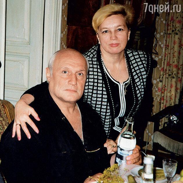 Людмила Туева с Александром Пороховщиковым
