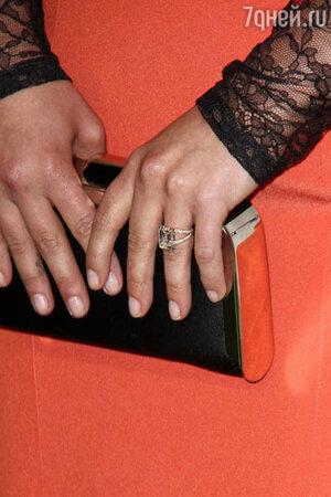 Хайден сама выбрала кольцо с бриллиантом в 6 карат за 500 тысяч долларов