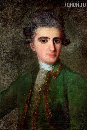 Фото репродукции портрета Н.Е. Струйского работы Ф. Рокотова, 1772 г.
