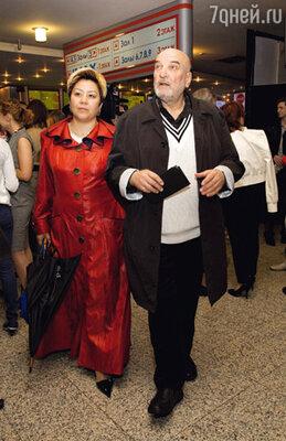 Алексей Петренко и его жена Азима Абдумаминова