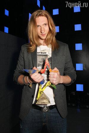 Победитель конкурса «Пять звезд» Александр Иванов