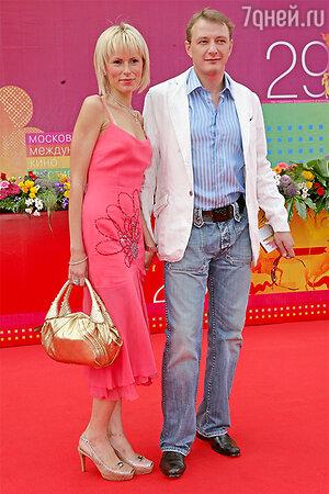 Марат Башаров и Елизавета Круцко в 2007году