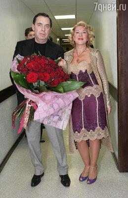 Любовь с мужем Александром Плаксиным
