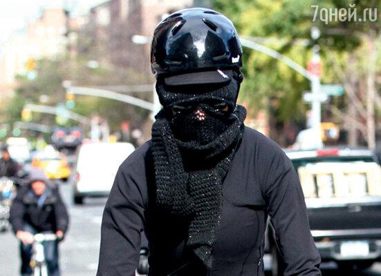 Кэти Перри на велопрогулке