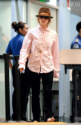 Бритни Спирс в аэропорту Лос-Анджелеса