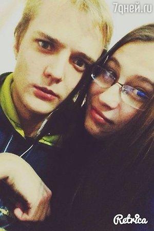 Сергей Зверев-младший с его возлюбленной Марией