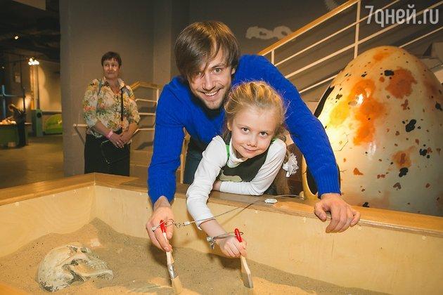 Иван Жидков с дочерью Марией