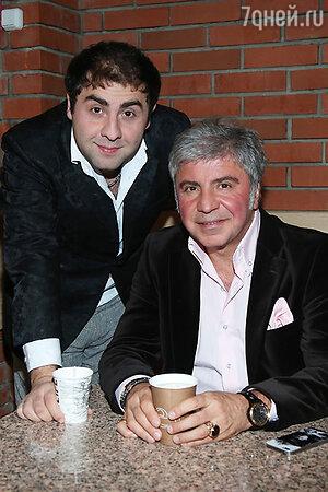 Сосо Павлиашвили с сыном