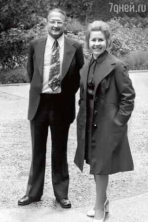 Инна Макарова и Михаил Перельман