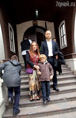 Тутта с мужем Валерием исыном