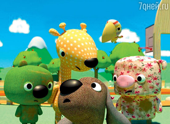 Кадр из мультфильма «Любимчики 3D»