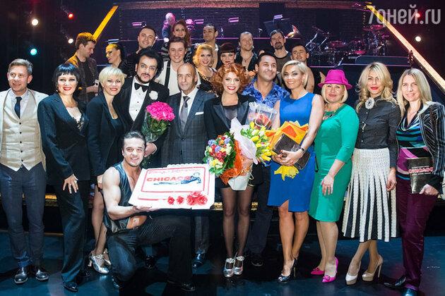 Участники и гости мюзикла Chicago