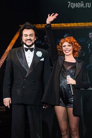 Филипп Киркоров и Анастасия Стоцкая на премьере мюзикла Chicago