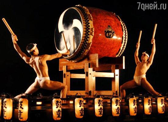 Шоу японских барабанщиков «KODO»
