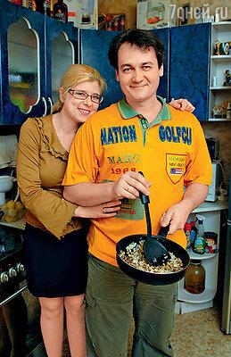 Сергей Барышев и его жена Катя