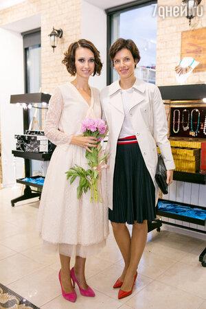 Мария Сёмкина и Анастасия Цветаева