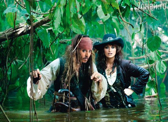 Кадр фильма «Пираты Карибского моря: На странных берегах»