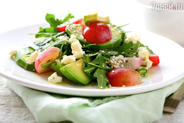 Крабовый салат с зеленью: рецепт от шеф-повара Мишеля Ломбарди