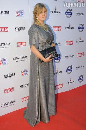 Анна Михалкова, апрель 2012 года