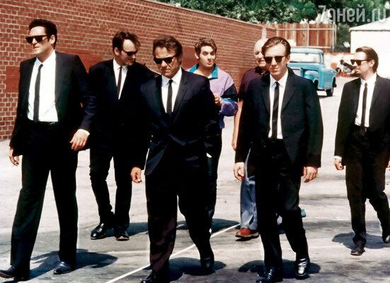 Фильм Тарантино «Бешеные псы» сделал Мэдсена (первый слева) настоящей звездой. Кадр из фильма, 1992 г.