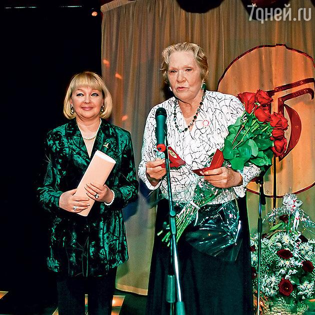 Наталья Гвоздикова и Римма Маркова