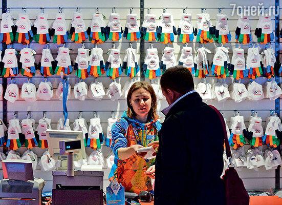 Сочинские разноцветные перчатки оказались не такими популярными, как ванкуверские варежки, разошедшиеся тиражом 3,5 миллиона штуук