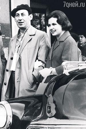 Наталья Фатеева с мужем Владимиром Басовым