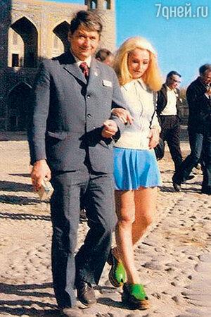 Наталья Кустинская с Борисом Егоровым