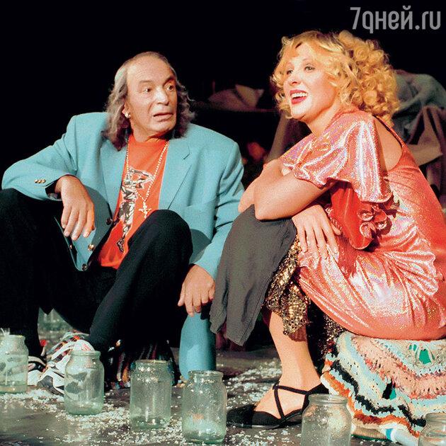 Елена Яковлева и Валентин Гафт