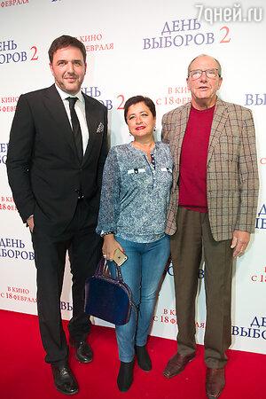 Максим Виторган, Эммануил и Ирина Виторган